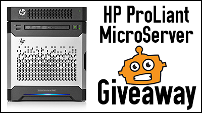 HP MicroServer Giveaway