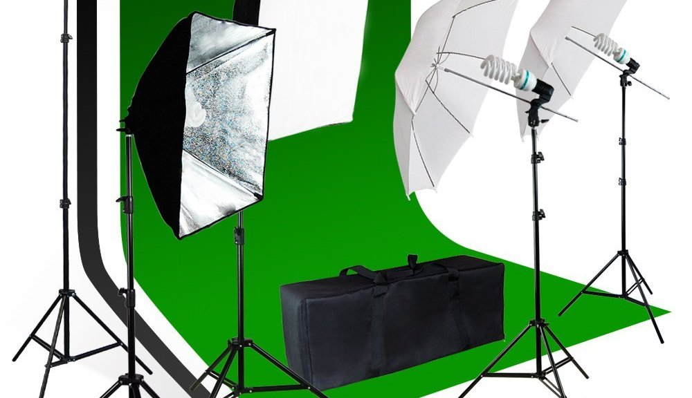 LimoStudio video studio kit